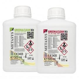 GREEN & CLEAN M2 2 Uds