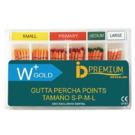GUTTAPERCHA W+ GOLD 60 Uds