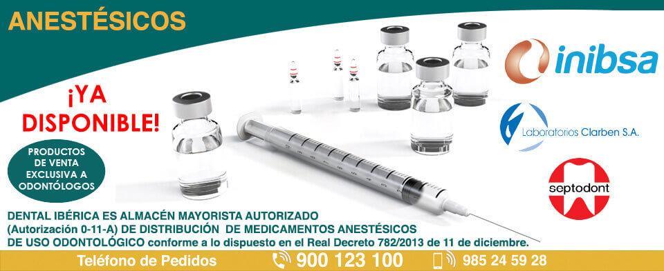 Anestesicos de uso dental