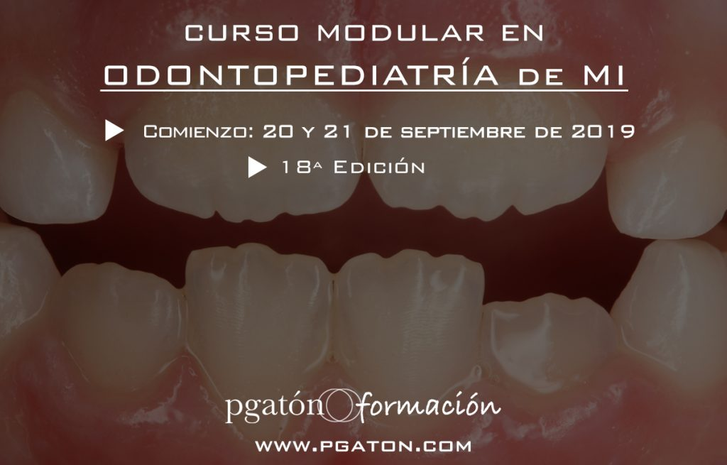 curso modular en odontopediatría pgatónformación