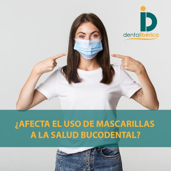 ¿Afecta el uso de mascarillas a nuestra salud bucodental?
