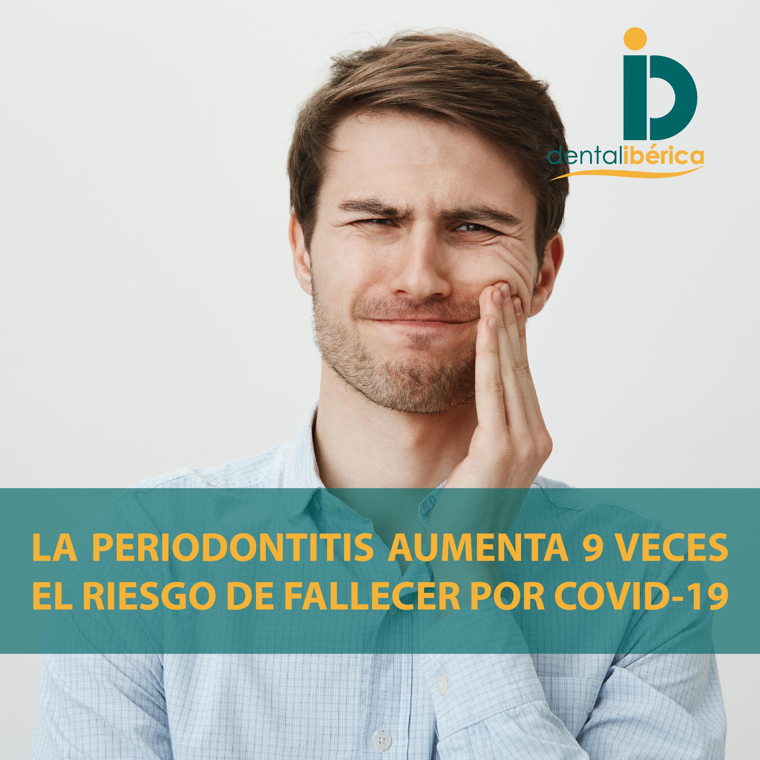 La periodontitis aumenta el riesgo de fallecer por COVID-19