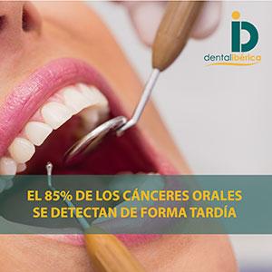 El 85% de los cánceres orales se detectan de forma tardía