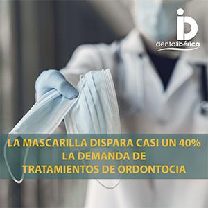 La mascarilla dispara casi un 40% la demanda de tratamientos de ordontocia