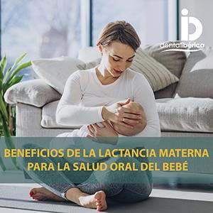 Beneficios de la lactancia materna en la salud oral del bebé