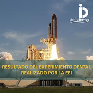 Experimento dental realizado por la Estación Espacial Internacional